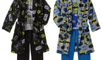Boys' 3-Piece Robe and Pajama Sleepwear Sets ONLY $9.88 (Reg. $24.97)