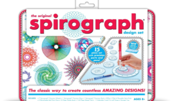 Amazon.com: Spirograph Design Tin Set, Less than $13