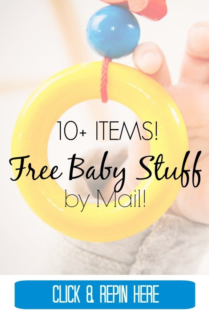 Baby stuff for cheap or free