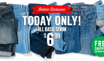 The Children's Place: Jeans ONLY $6.99 + FREE Shipping