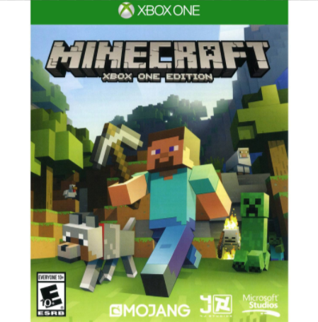 Minecraft Xbox One Game Less Than 12 Reg 19 99
