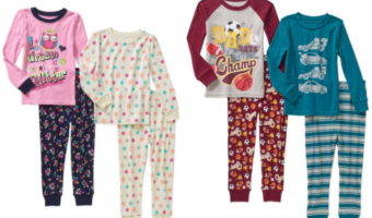 Walmart.com: Boys & Girls Pajama Sets ONLY $2.25 Each!