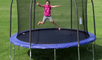 Skywalker 12′ Trampoline and Safety Enclosure Just $199 (Reg. $389!)