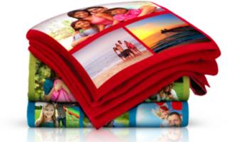 40×60 Collage Fleece Blanket
