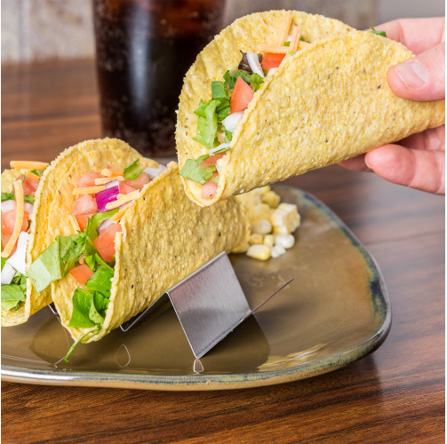 Amazon.com: Stainless Steel Taco Holders Only $8.69