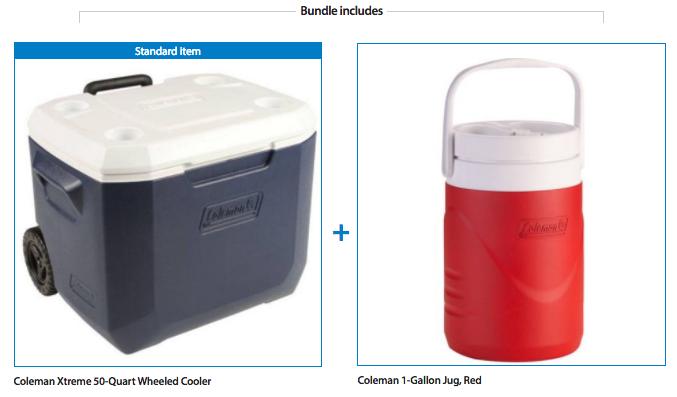 coleman-xtreme-50-quart-wheeled-cooler-coleman-water-jug