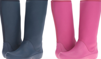 Women's Crocs Rain Floe Tall Boots Starting at $18 (Reg. $45)