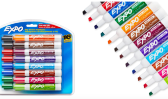 16-ct. Expo Low-Odor Dry Erase Markers Only $7.49