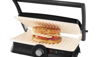 Oster DuraCeramic Panini Maker and Grill at Best Price, Only $23.99