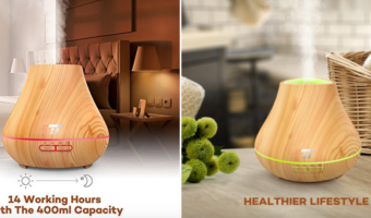 TaoTronics Essential Oil Diffuser at Best Price (Save $35!)