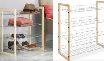 Amazon.com: Whitmor 4-Tier Closet Shoe Accessory Shelves on Sale