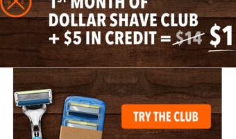 Amazon.com: 1st Month of Dollar Shave Club ONLY $1 (See HOW!)