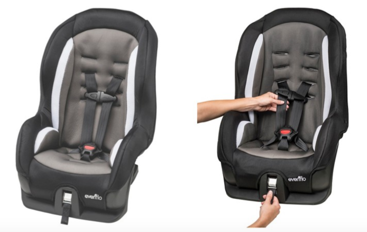 evenflo tribute convertible car seat as low as shipped. Black Bedroom Furniture Sets. Home Design Ideas