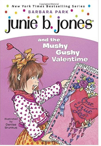 Junie B Jones And The Mushy Gushy Valentime Book