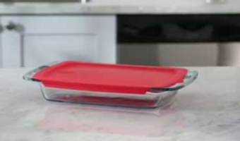 Pyrex Easy Grab 3-Quart Oblong Baking Dish at Best Price