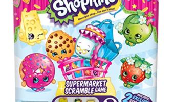 Shopkins Supermarket Scramble Board Game