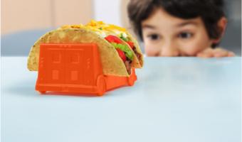 taco trucks kids taco holders
