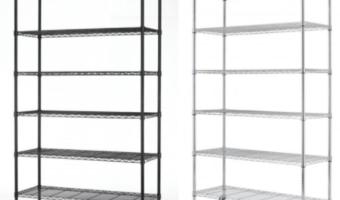 Commercial Size Metal Shelving Racks Only $49.99 Shipped (Reg. $199.99)