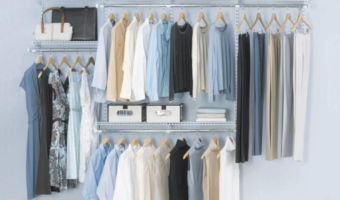 HomeDepot.com: Save $40 on the Configurations Custom Closet Deluxe Kit