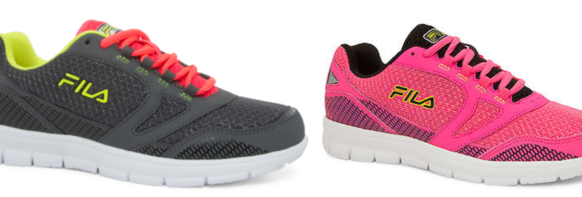 FILA Running Shoes on Sale Starting at $19.99 Shipped