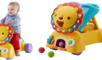 Fisher-Price 3-in-1 Sit, Stride & Ride Lion at Best Price