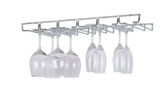 Highly Rated Organize It All Large Wine Glass Holder