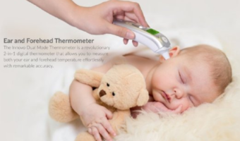 Innovo Forehead and Ear Thermometer