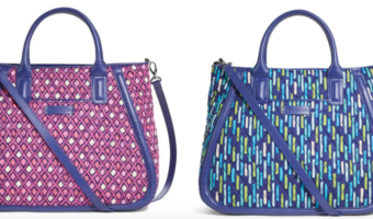 Women's Vera Bradley Trapeze Tote Bags Only $21.99 Shipped