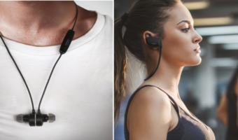 Aukey Wireless Bluetooth 4.1 Sports Headphones Only $9.99 Each