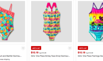 Target.com: Save 40% Off Children's Swimsuits – Wow!