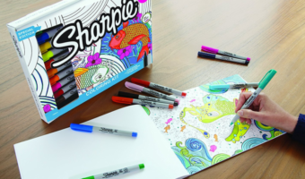Amazon.com: 20-Piece Sharpie & Adult Coloring Book Set