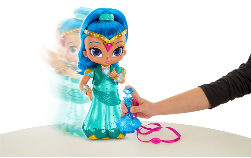 Fisher-Price Shimmer and Shine Wish & Spin Shine Doll