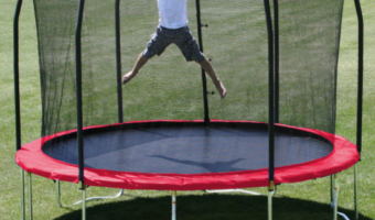 Save $187! 12′ Skywalker Trampoline Only $201 Shipped