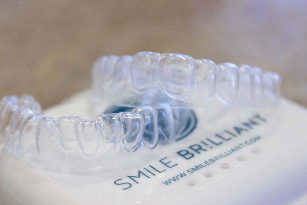 smile brilliant teeth whitening trays #ad