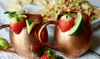 Moscow Mule Cocktail Recipe – The Strawberry Mule