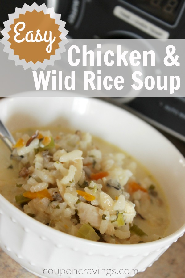This chicken and wild rice soup is so easy and my whole entire family LOVED it! Making this again, for sure. I love that this is a dinner for large group, too!
