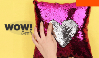 Color Shifting Mermaid Sequin Pillows ONLY $1 Each!