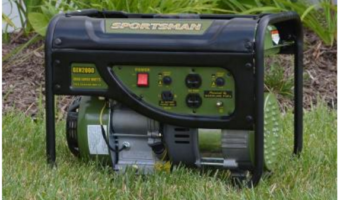 HomeDepot.com: Gasoline Powered Portable Generator $130 Off Regular Price!