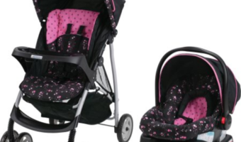Graco LiteRider Click Connect Travel System Only $89.99
