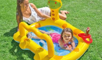 Intex Giraffe Inflatable Baby Pool Less than $9!