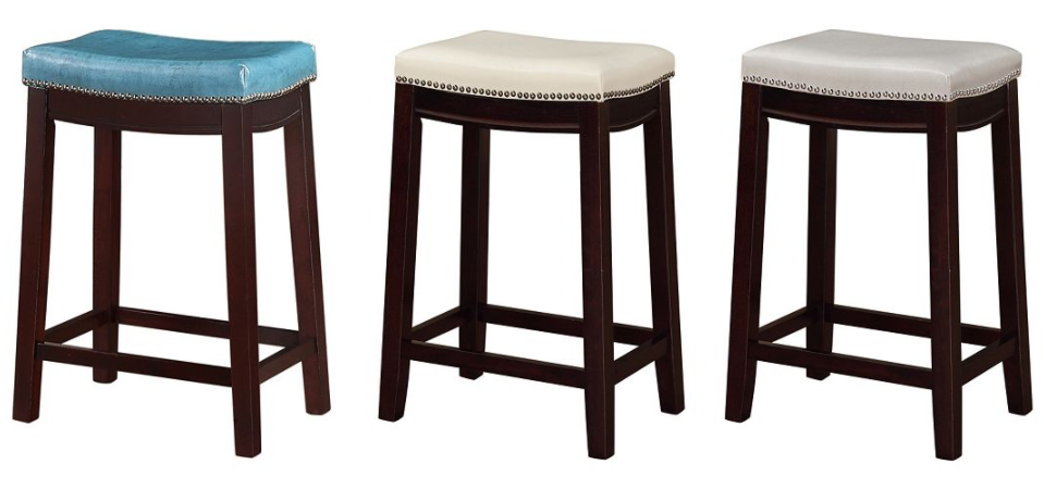 Awe Inspiring Linon Allure Counter Stools 35 69 Each Reg 99 99 Gmtry Best Dining Table And Chair Ideas Images Gmtryco