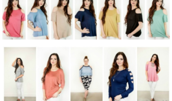 Open Shoulder Tops ONLY $14.95 Shipped