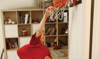 Save $10 on the SKLZ Pro Mini Basketball Hoop, Just $19.99