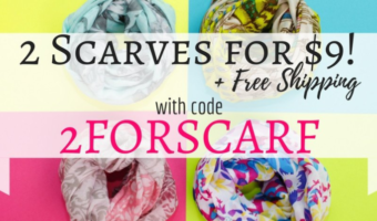 Cents of Style: Two Scarves ONLY $9 Shipped!