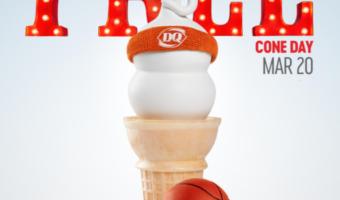 FREE Dairy Queen Ice Cream Cone!