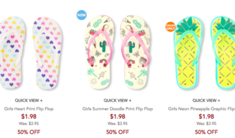 The Children's Place: Flip Flops $1.98 Shipped, Easter Dresses & More!