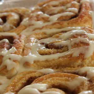 Quick Breakfast Idea: Caramel Cinnamon Rolls