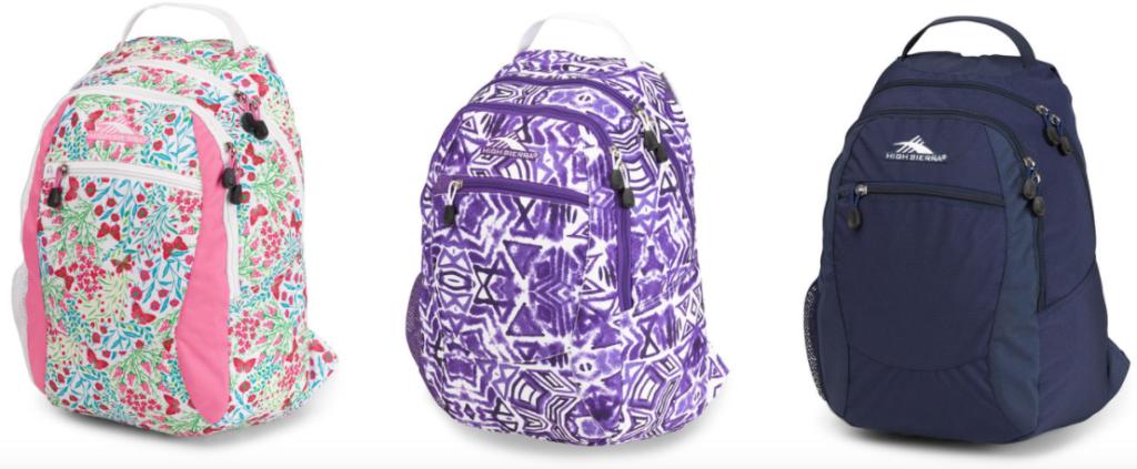 High Sierra Backpacks on Sale