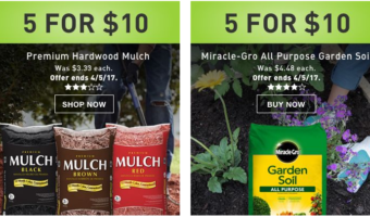 Lowe's & Home Depot: Mulch ONLY $2 Per Bag!