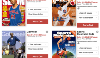 Save Big on Magazine Subscriptions = Great Prices on Subscriptions!